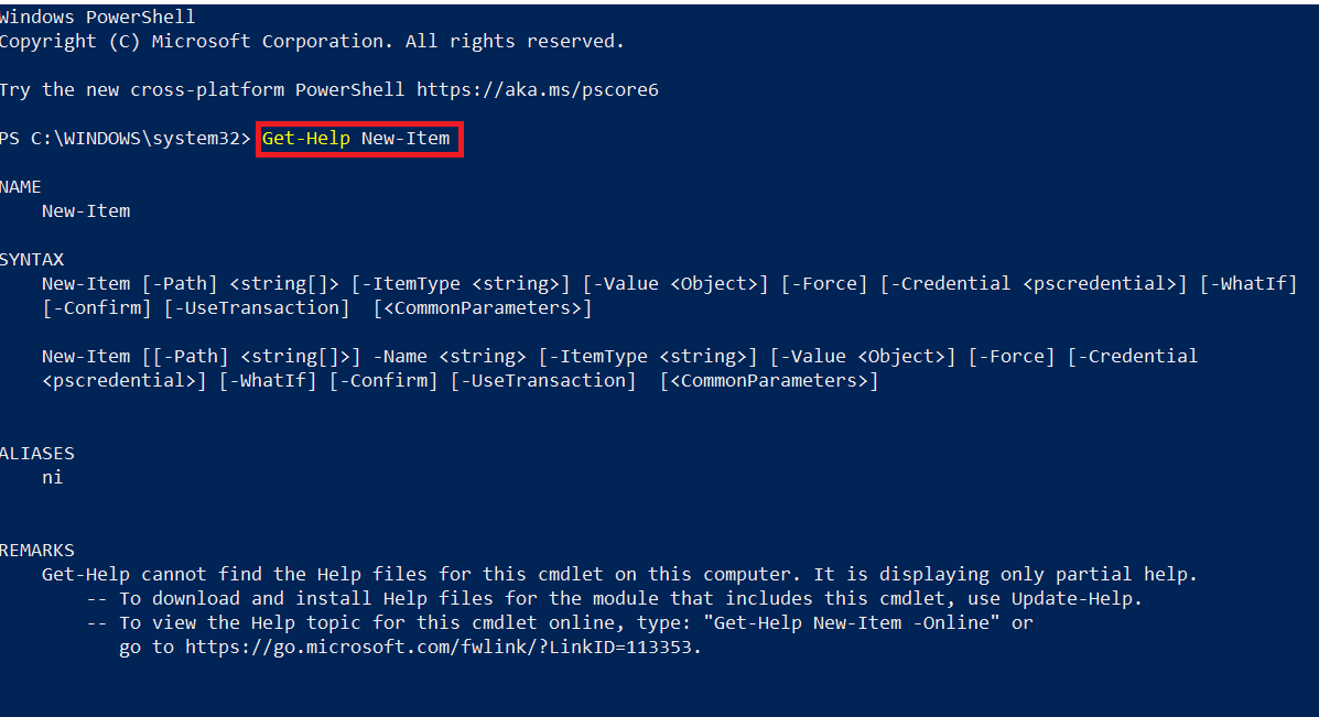 PowerShell cmdlets examples