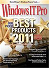 Windows IT Pro's Editiors Best and Community Choice Awards 2011
