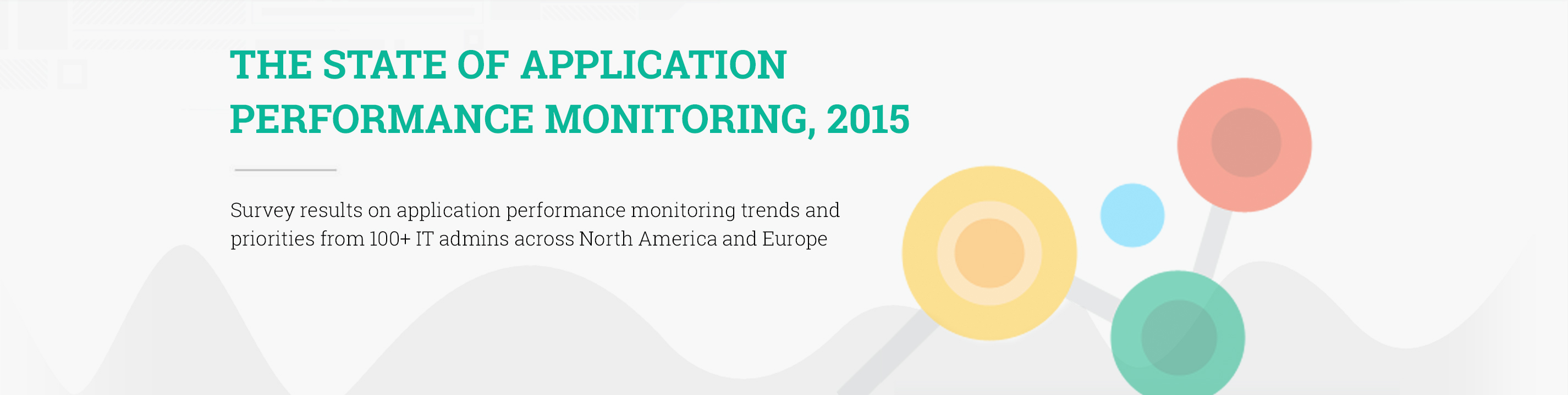 The State Of Application Performance Monitoring 2015