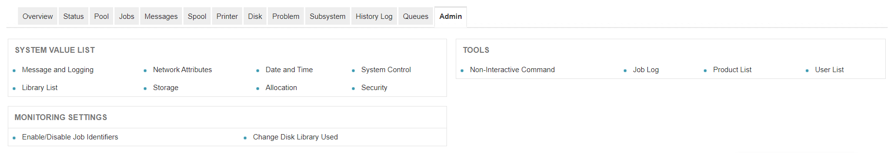 AS400 Server Monitoring Tools - ManageEngine Applications Manager