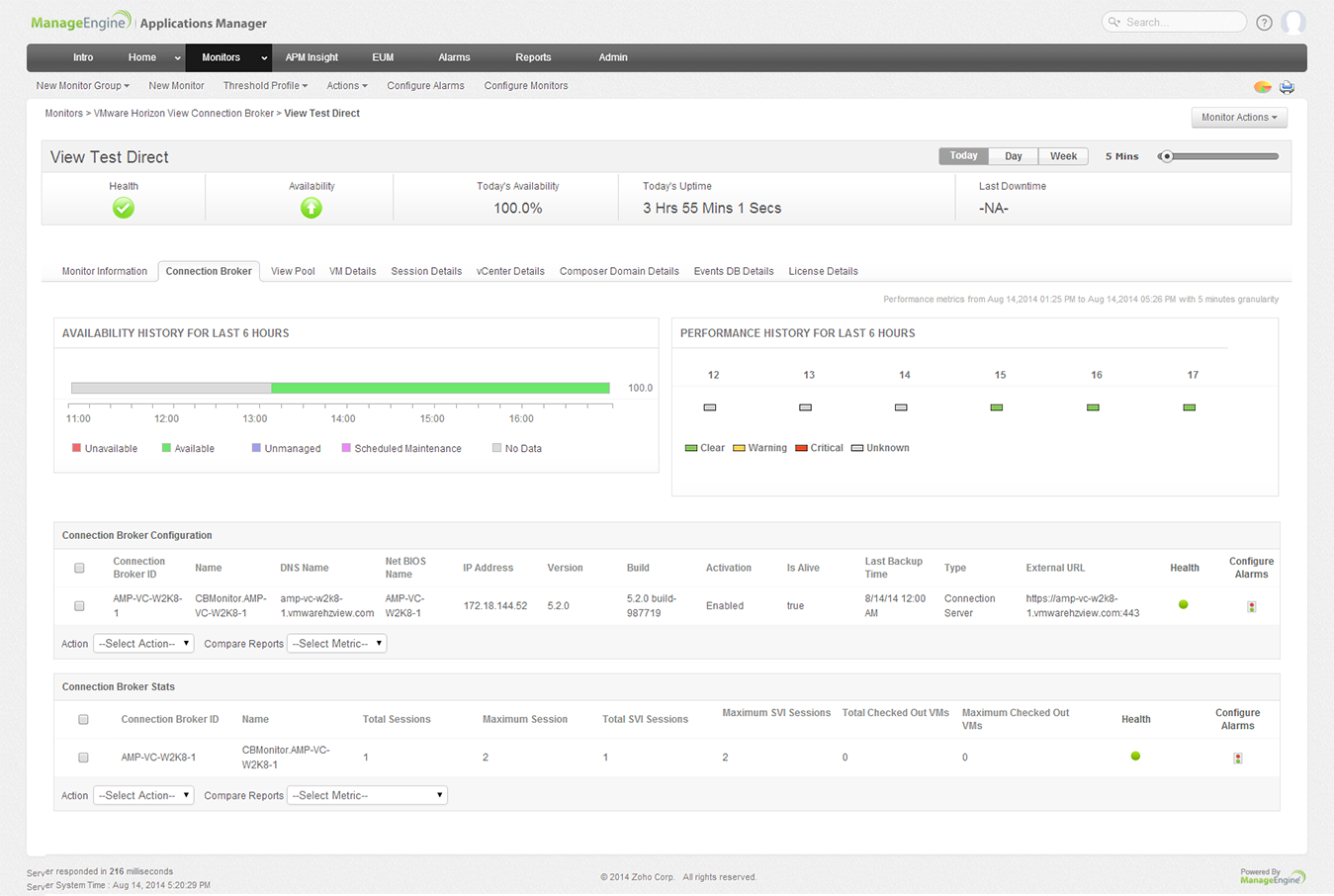 Vmware horizon view monitoring applications manager monitor connection broker statistics 1betcityfo Image collections