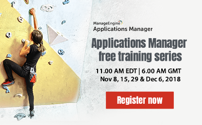 Applications Manager - Free Training