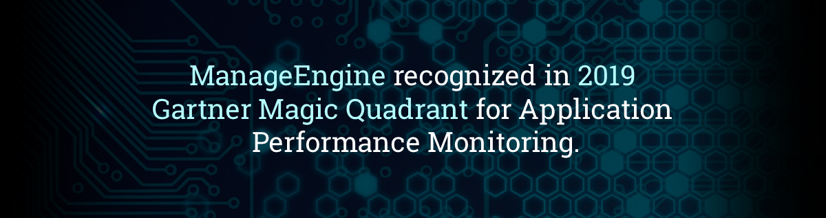 ManageEngine Applications Manager Gartner Magic Quadrant Report