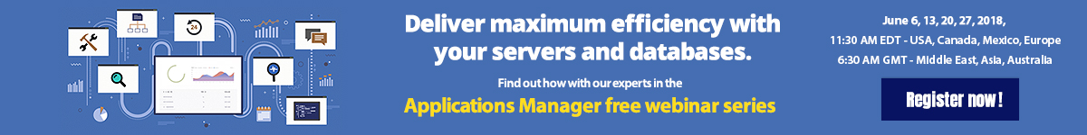 Deliver maximum efficiency with your servers and databases