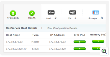 Discover XenServer pools, hosts and their resources