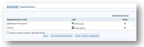 Configure dependencies