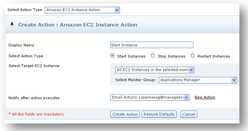 Auto-provision Amazon EC2 instances