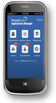 Access Applications Manager on the move