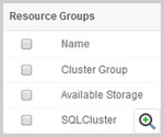 Cluster Resource Groups