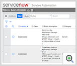 Service Now Screen