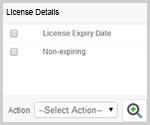 Horizon View License Details