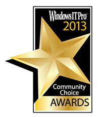 Windows IT pro Award