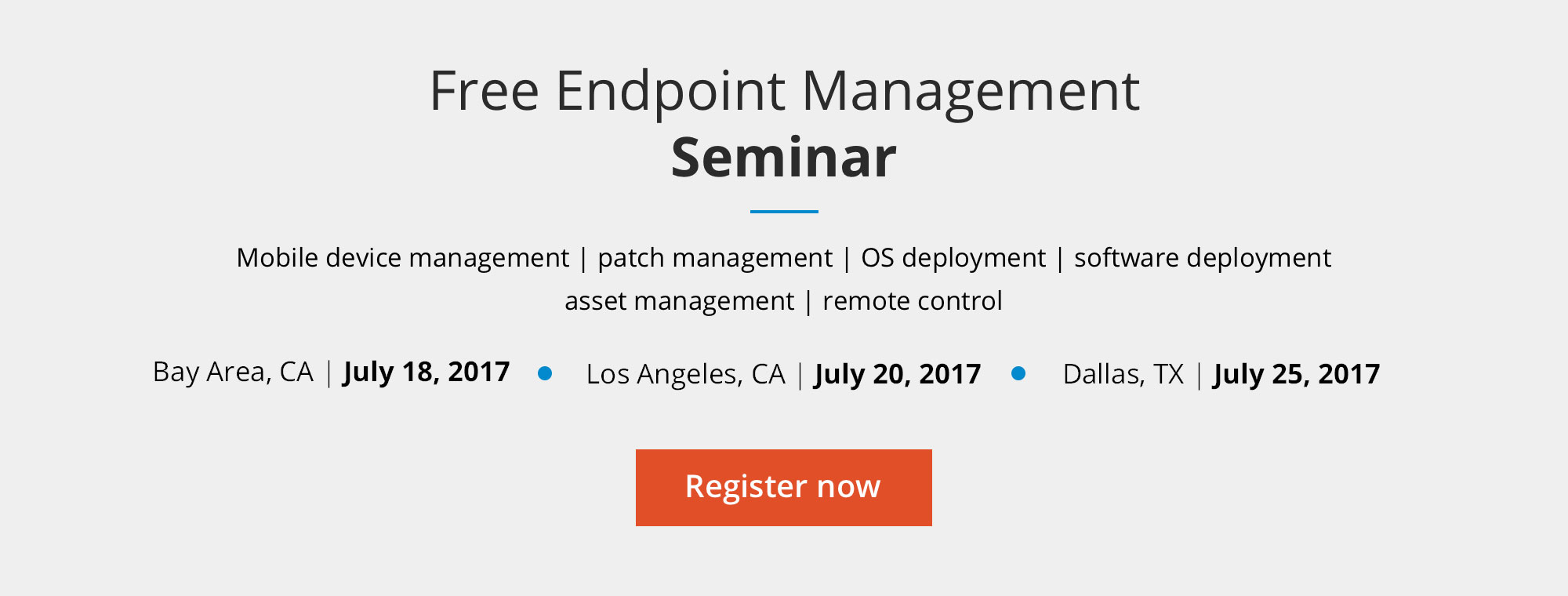 Enterprise Mobility and Endpoint Management SEMINAR