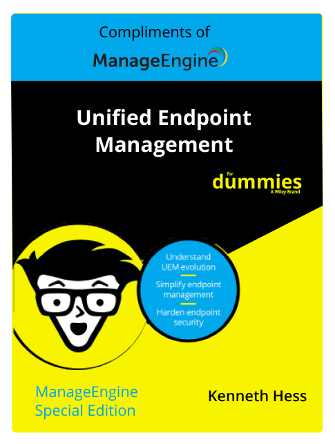 ManageEngine Special Edition Unified Endpoint Management For Dummies