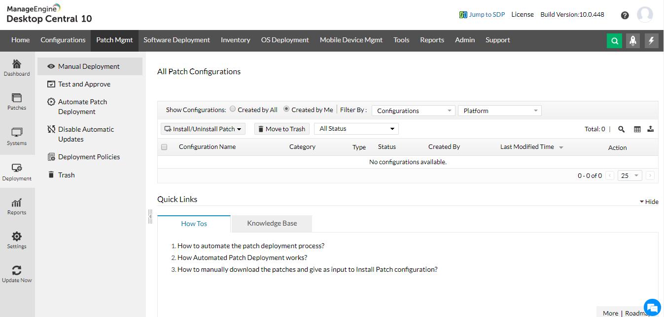 windows 补丁管理 ManageEngine Desktop Central