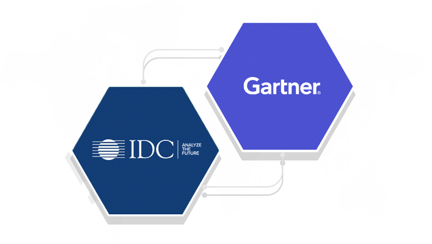 Recognized in the 2019 Gartner Magic Quadrant, Forrester Wave, and IDC MarketScape for managed desktop service.