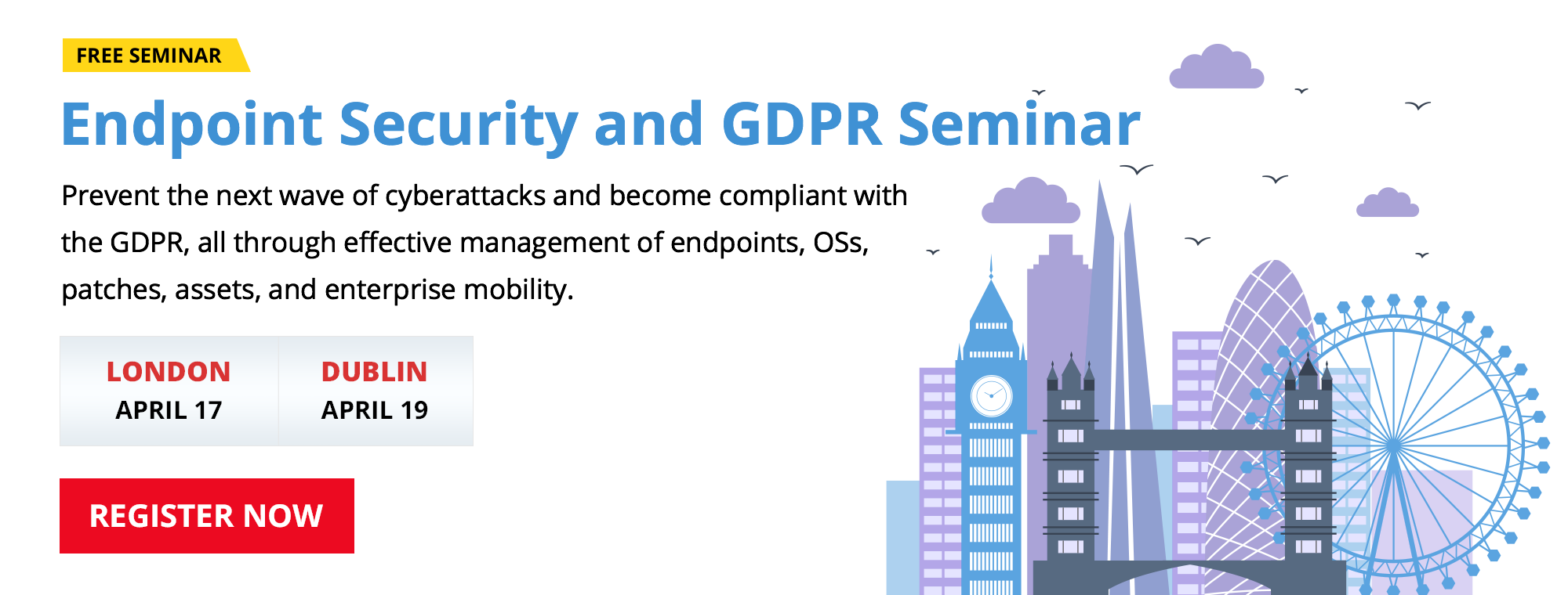 Endpoint Security and GDPR Seminar