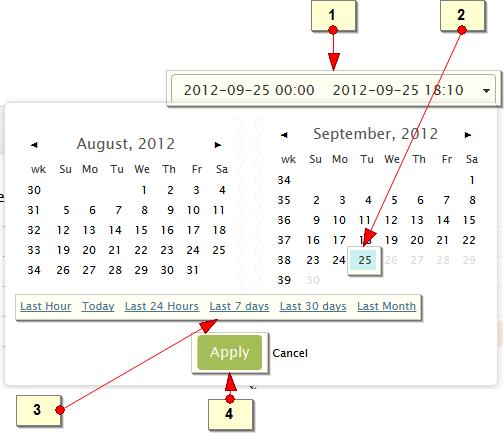 Select single date in calendar