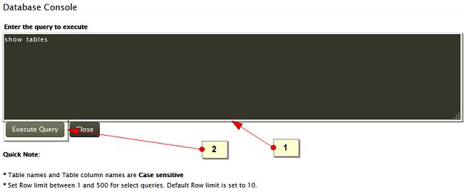 Access EventLog Analyzer database