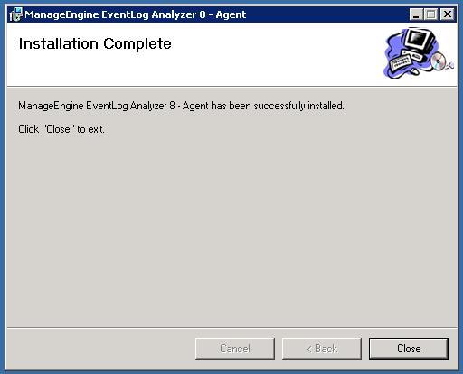 Instalación del agente de ELA AWS completa