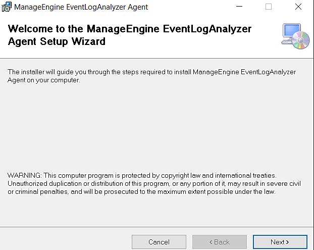 Bienvenido a la instalación de ELA AWS Agent