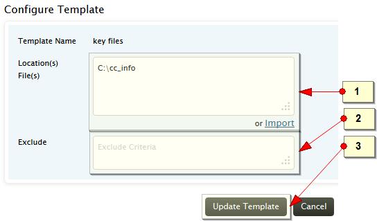 Edit FIM template