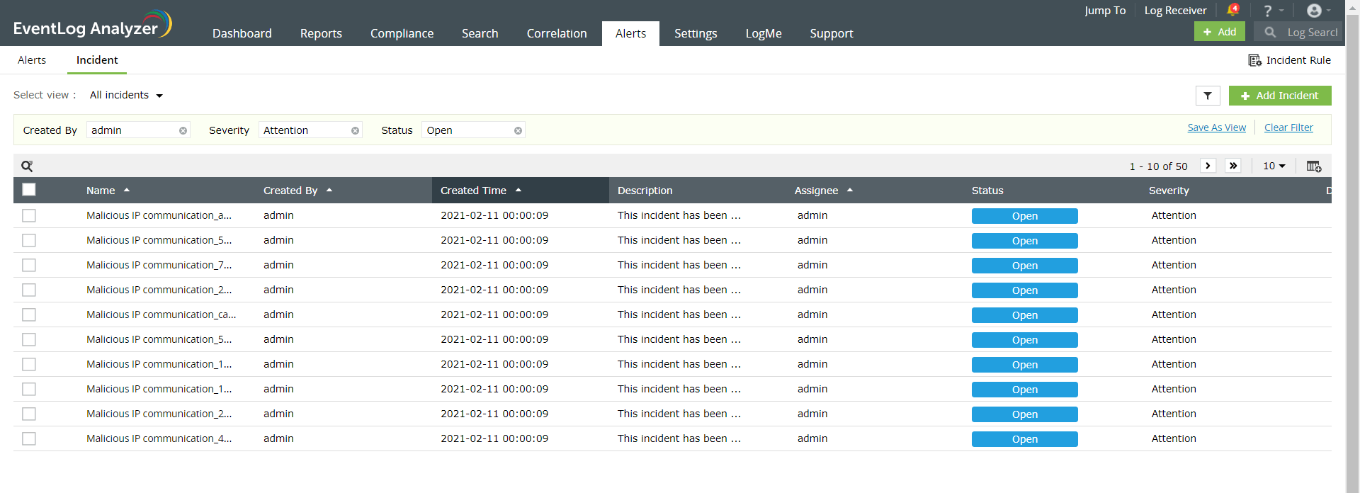 Steps to map reports as incidents