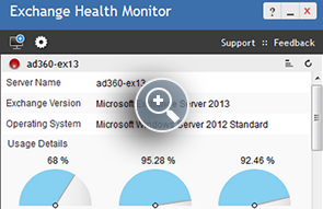 Exchange Server Monitoring - ManageEngine Free Tools