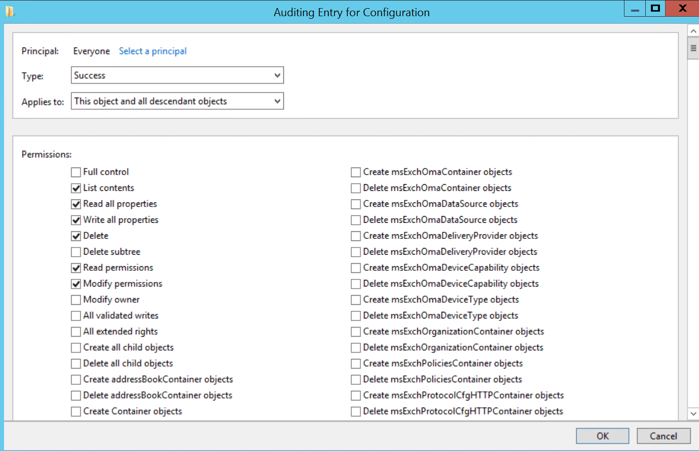Configuring Object level Auditing