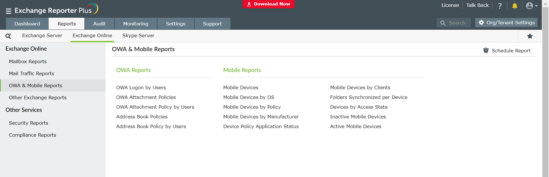 owa-and-mobile-reports-office-365