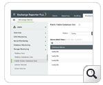 Mailbox database size - Exchange Storage Monitoring Reports