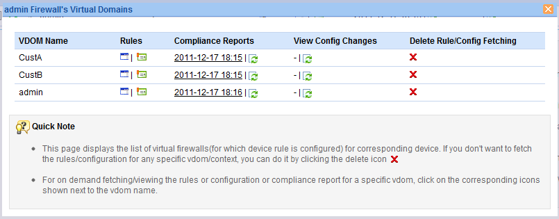 ManageEngine Firewall Analyzer :: User Guide