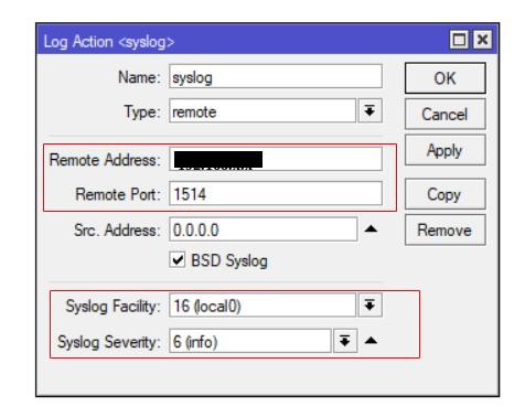Configure MikroTik Firewalls | Forward Syslog | Firewall