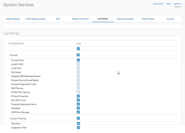 Configure Sophos XG Firewalls | Forward Syslog | Firewall