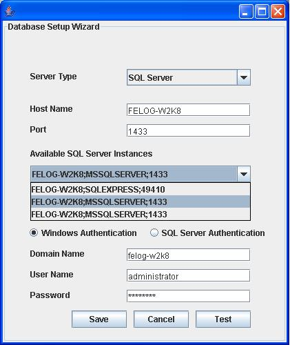 SQL Cluster Windows Authentication