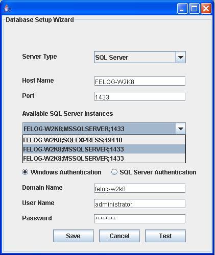 SQL Cluster Windows Authentication