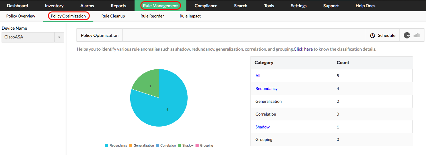 Firewall Policy Management Tools - ManageEngine Firewall Analyzer