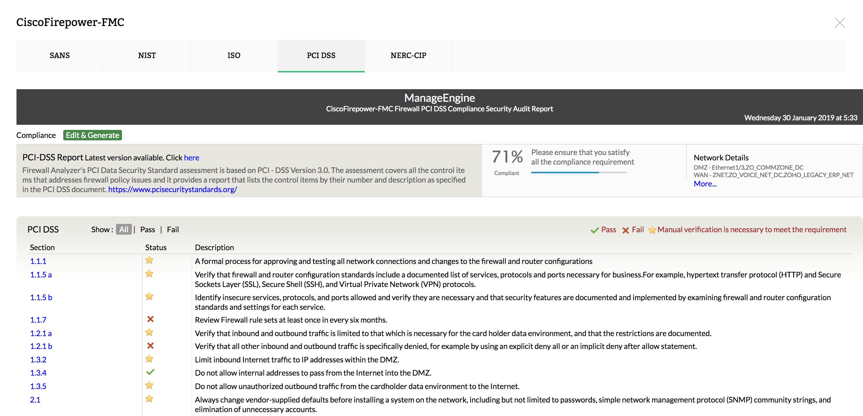 Network Firewall Security Management & Compliance - ManageEngine Firewall Analyzer