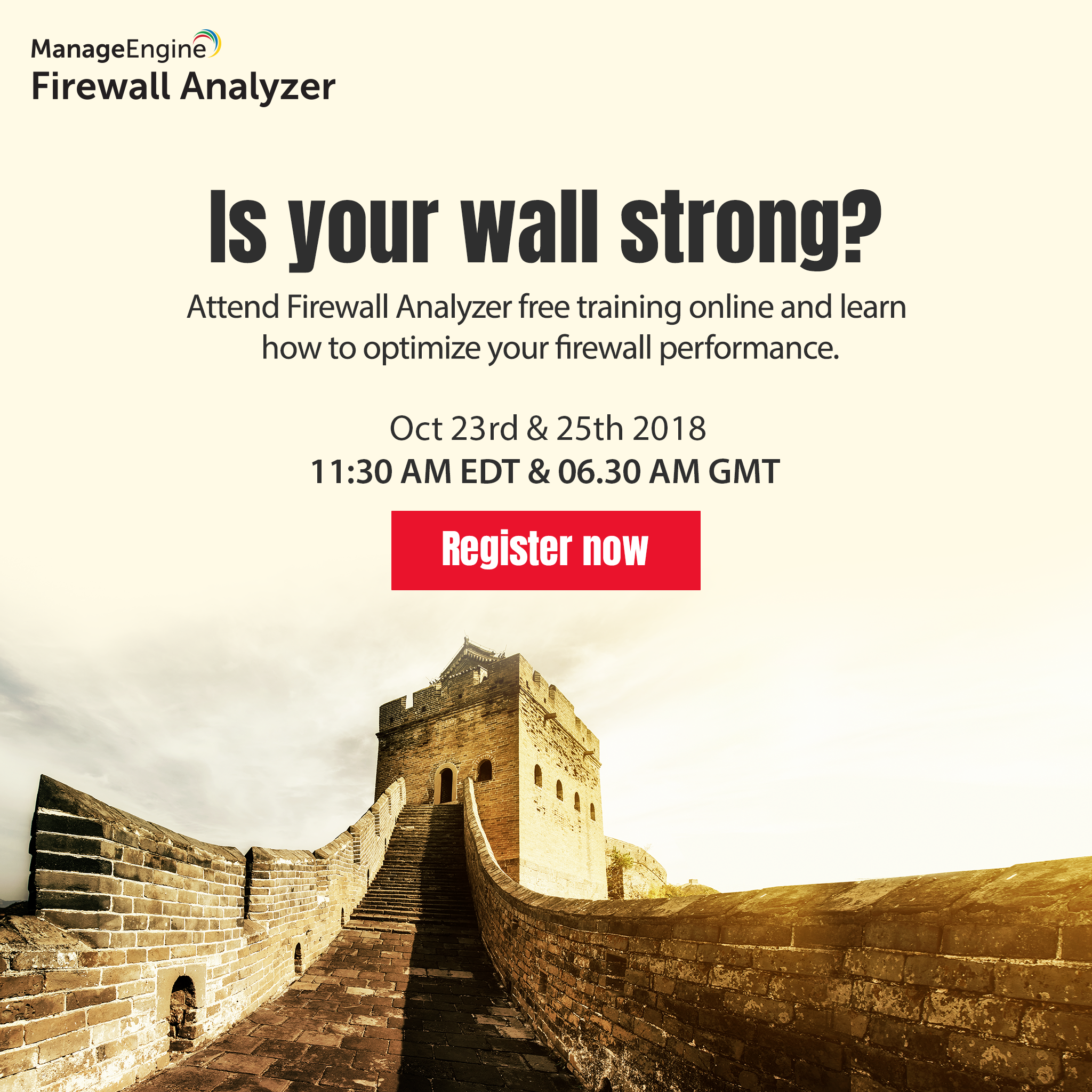 Firewall Webinar Training