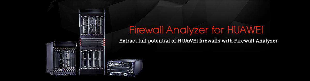 Firewall Analyzer for Huawei