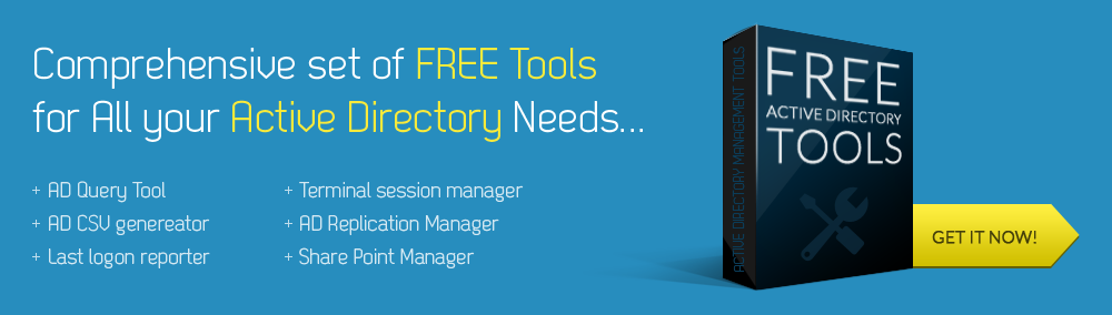 Windows Active Directory Free Tools