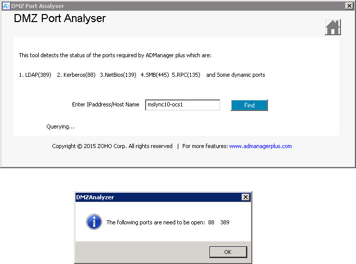 DMZ Port Analyzer