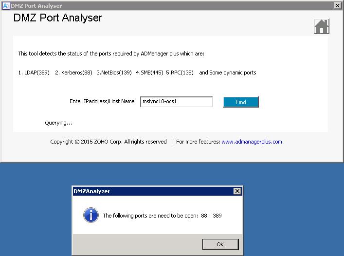 DMZ Port Analyzer