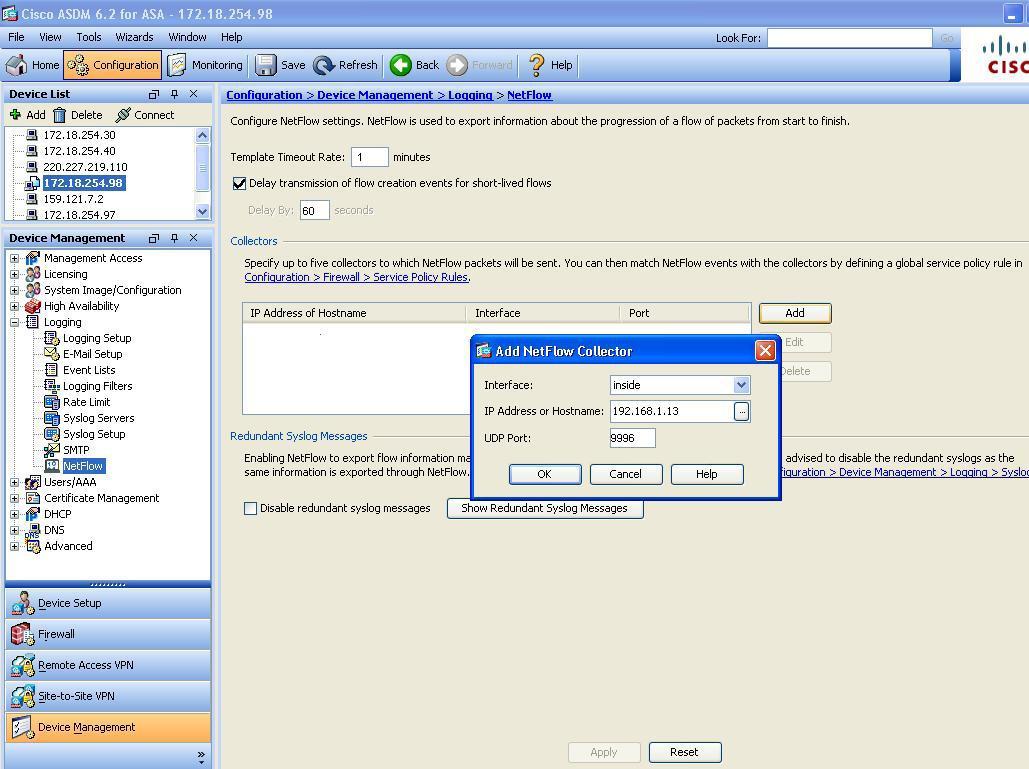 Cisco ASA 5515x Configuration