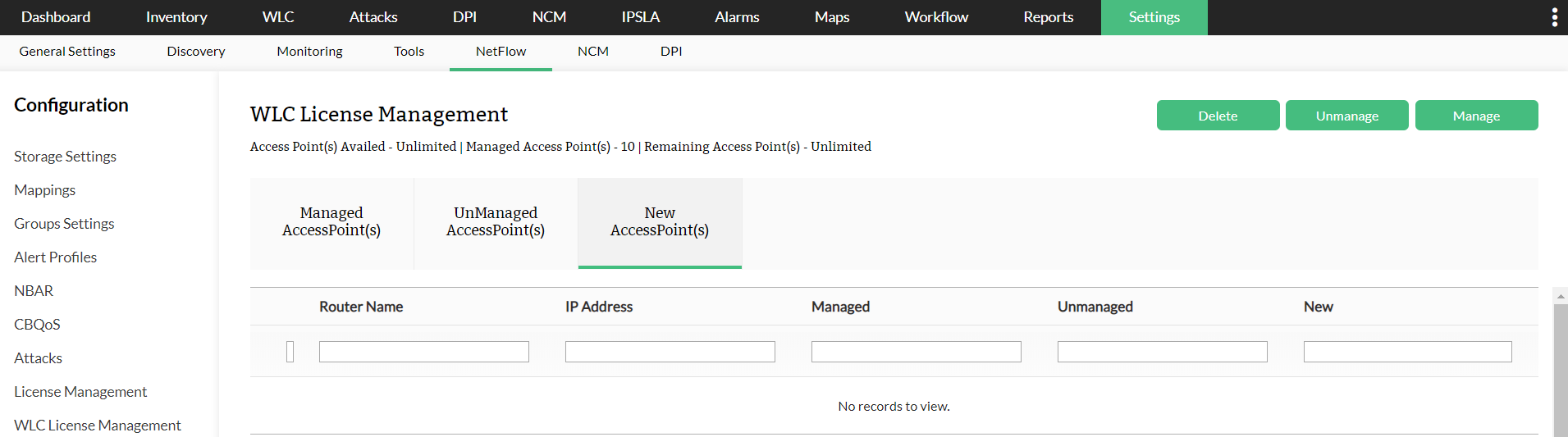 Licensing New Access Points