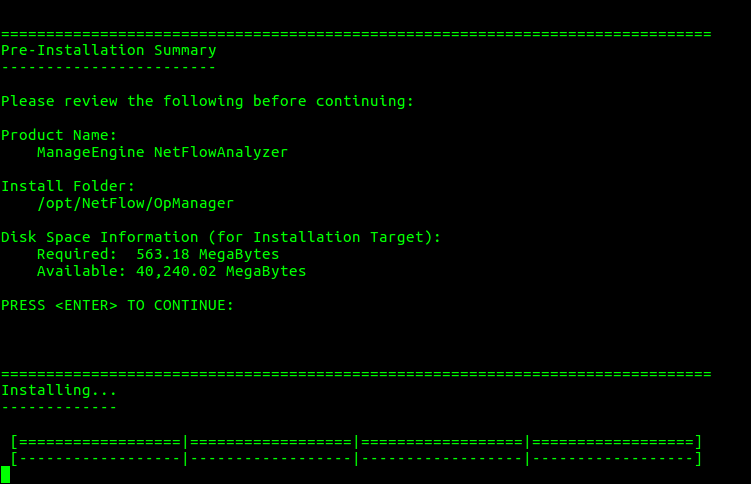 Manageengine NetFlow Analyzer Installation Guide - NetFlow Startup