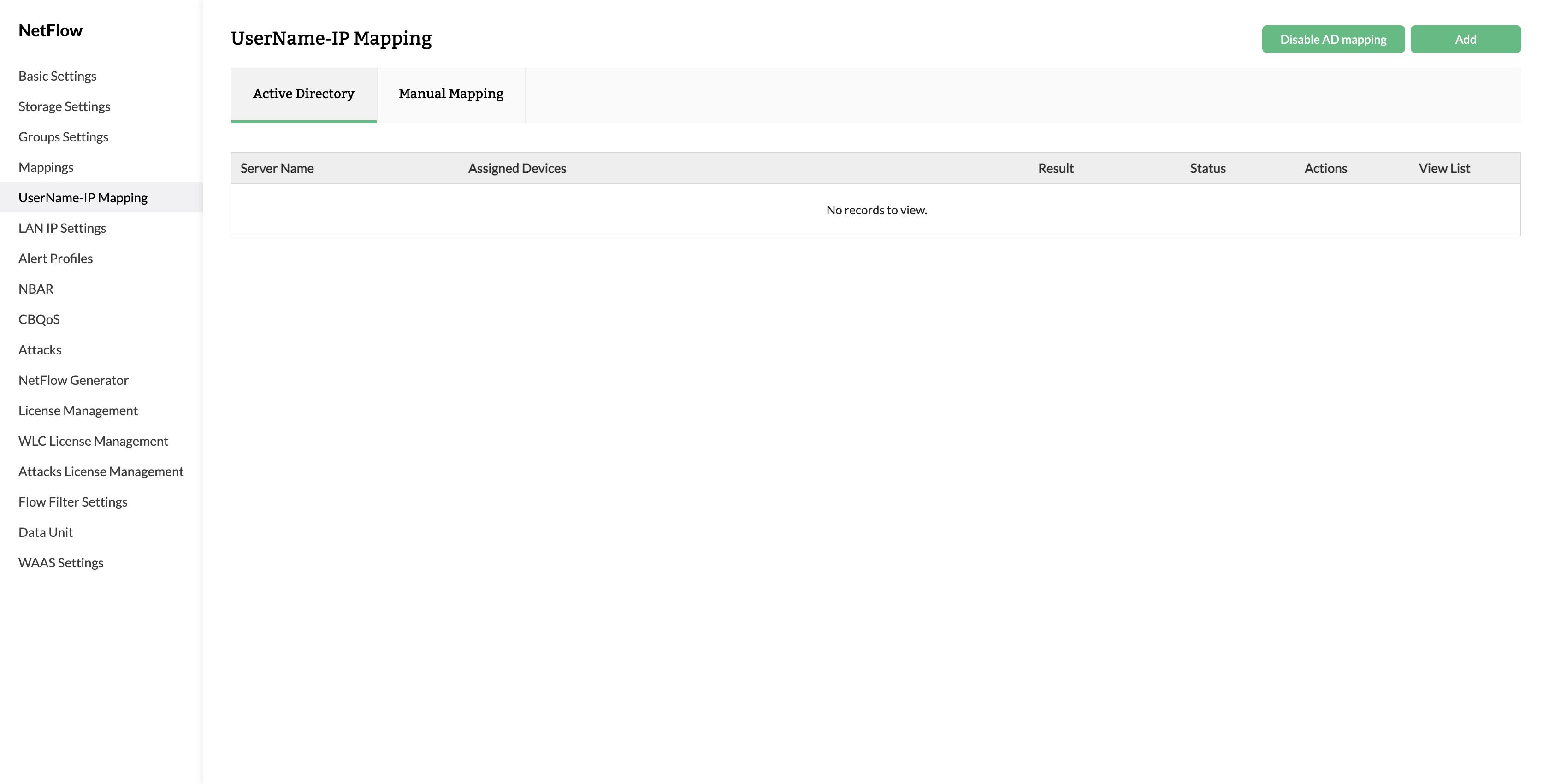 Active Directory - ManageEngine Netflow Analyzer