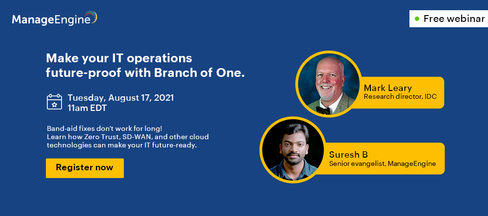 make your IT operations future-proof with Branch of One.