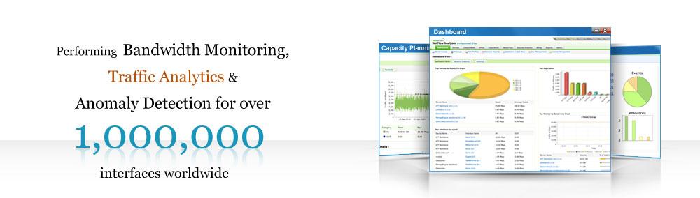Bandwidth monitoring & traffic analytics