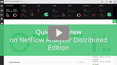 Quick Overview on NetFlow Analyzer Distributed Edition
